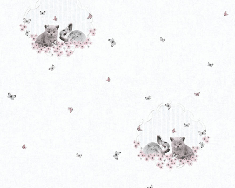 As Creation Little Stars 35564-2 Poes Konijn Vlinder