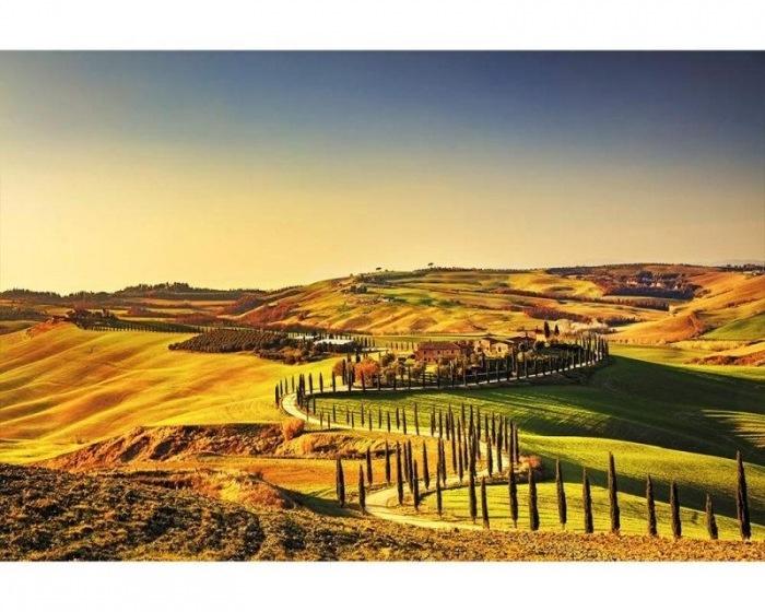 Fotobehang Toscane