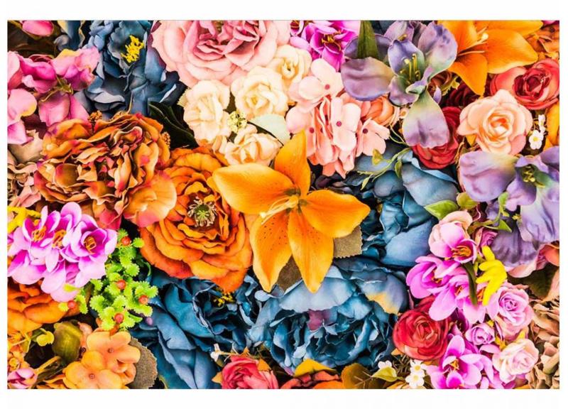 Fotobehang Vintage bloemen