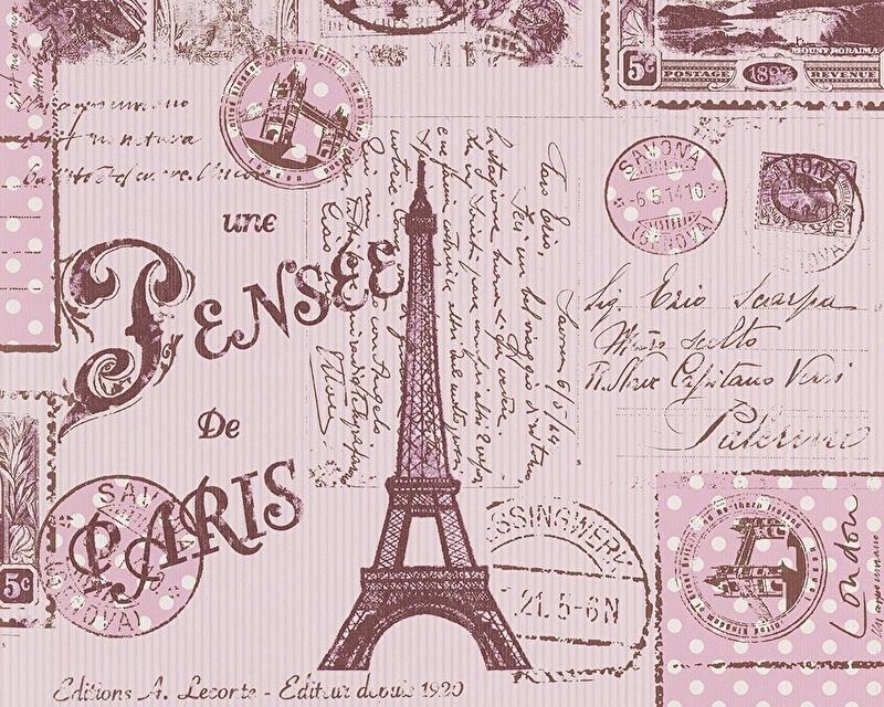 Kinderbehang AS Creation Boys and Girls 93630-2 Paris