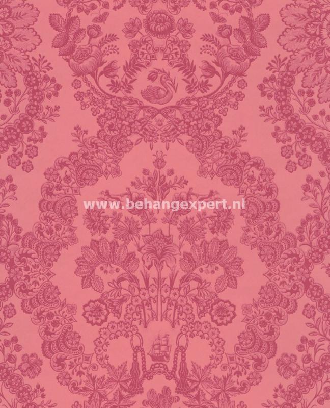 Eijffinger PiP Studio behang 375044 Lacy Dutch Rood Roze