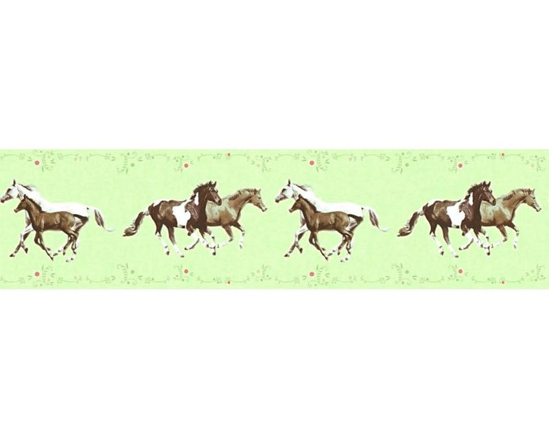 As Creation Little Stars 35838-1 behangrand Paarden