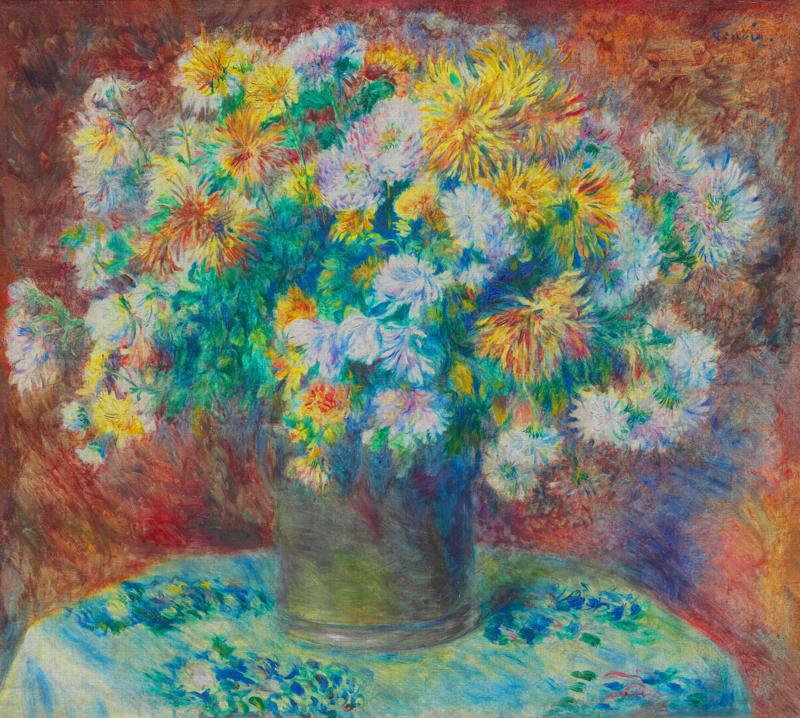 Dutch Painted Memories 8081 Chrysanthemums