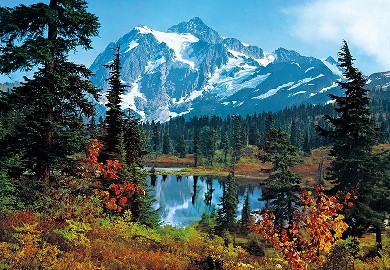 Fotobehang Idealdecor 00211 Mountain Morning