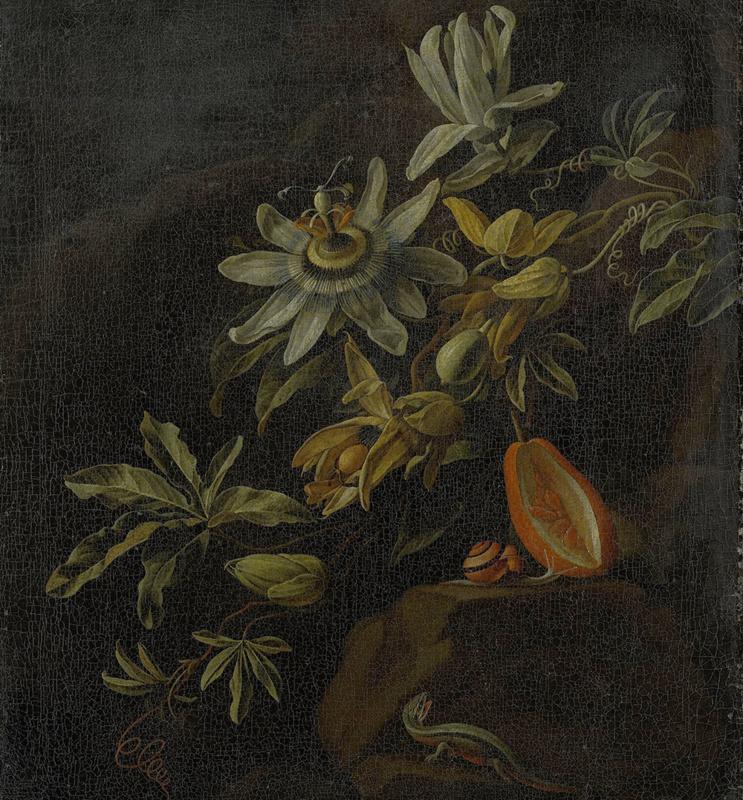 Dutch Painted Memories 8007 Passion flowers Elias Van Den Broeck