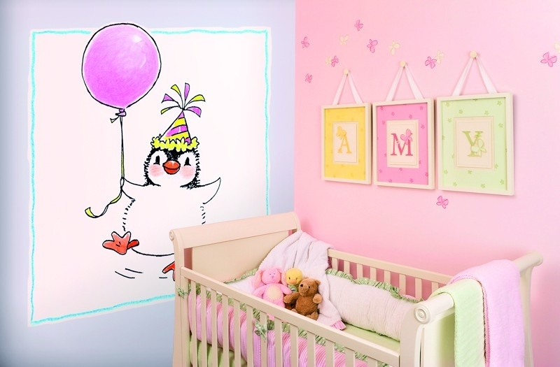 Sweet Collection by Monica Maas - Penguin with a Balloon art. 5053
