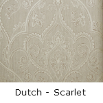 Behang Dutch Scarlet
