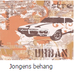 Jongens behang