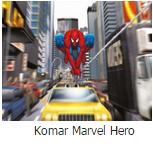 Komar marvel hero