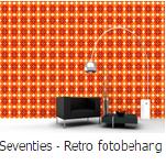 Seventies retro fotobehang