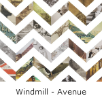 Behang Windmill Avenue