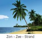 fotobehang met zon - zee - strand