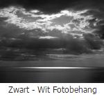 fotobehang zwart - wit