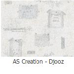 behang as creation djooz