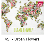 AS Creation Urban Flowers