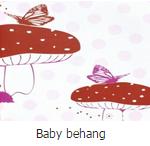 Baby behang