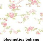 bloemetjes behang