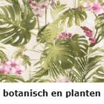 botanisch en planten behang