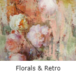 Colourful Florals en Retro