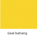 Geel behang