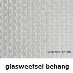 glasweefselbehang