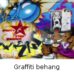 graffiti behang