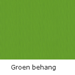 Groen behang