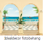 Idealdecor fotobehang vlies