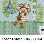Kay & Live fotobehang