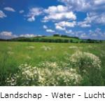 landschap -water - lucht fotobehang