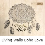 Living Walls Boho Love