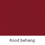 Rood behang