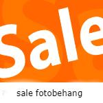 Sale fotobehang