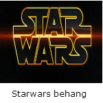 Starwars behang