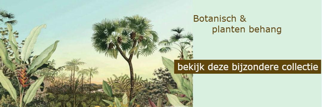 Botanisch en planten behang bij Behangexpert