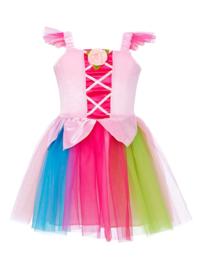 Feetje Jurk Nuria rainbow Prinses