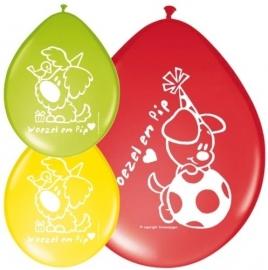 Woezel en Pip Balonnen | 8 stuks