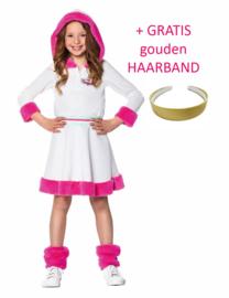 K3 jurk Dromen Verkleedjurk + gratis Haarband!