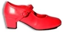 Prinsessen Schoenen Rood Elegance maat 35 t/m 37