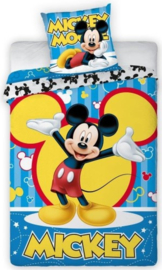 Dekbed Mickey Mouse Colors
