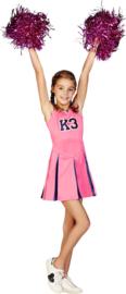 K3 Jurk Cheerleader Roze K3 jurk!
