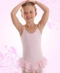 Balletpakje Roze met Rokje - Diva