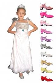Prinsessenjurk Zilver Pakket