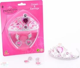 Prinsessen Kroontje Oorbellen set