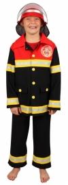 Brandweerman Pak Kind - Luxe - maat 140