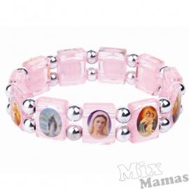 Mix Mamas Armbandje Roze Herdenkingsarmbandje