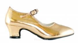 Prinsessen Schoenen Goud + gratis kadootje