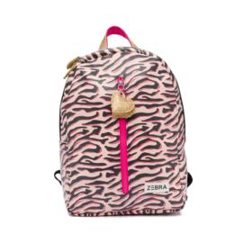 Zebra Rugzak Zebra Stripes (m) + gratis kadootje