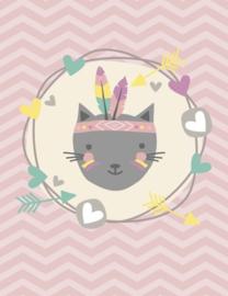 Vloerkleed Feather Cat - Kat