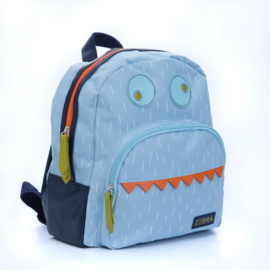 Zebra Rugzak Monster Blue - sale